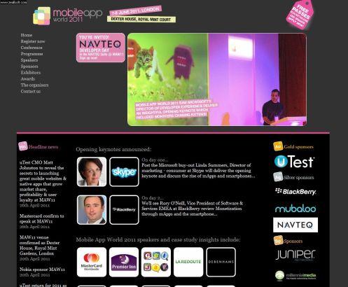 Mobile App World 2011
