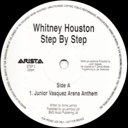 Whitney Houston - Step by Step (Junior Vasquez Arena Anthem)