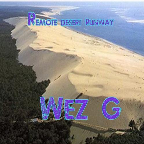 Remote Desert Runway